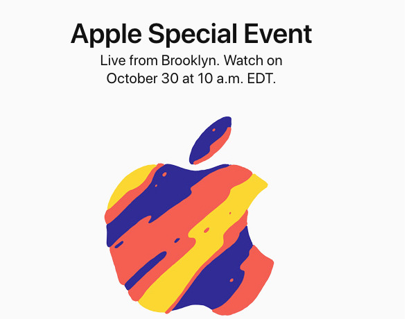 Apple confirms the October 30 event, New iPad Pros, and MacBooks expected