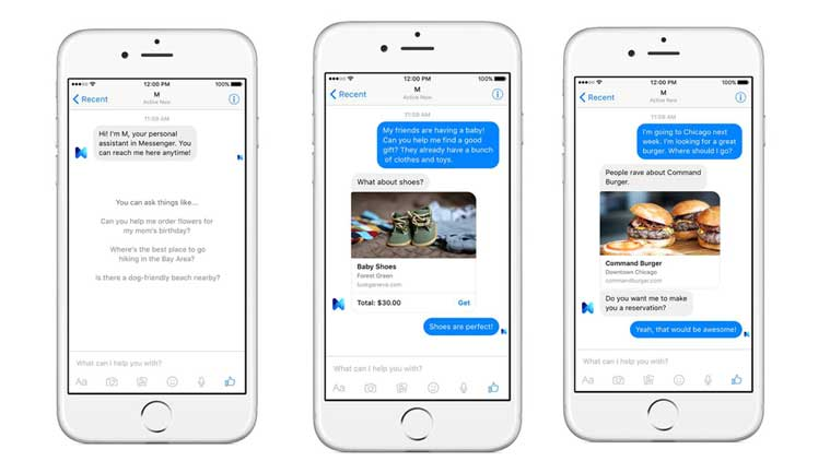 Facebook Messenger is testing Voice Commands for chat and calls