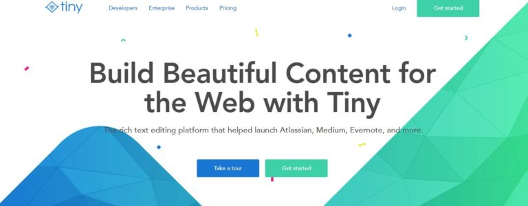 Rich-text editing platform Tiny raises $4M from BlueRun Ventures
