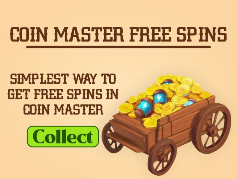 Coin Master Free Spins | Simplest Ways to Get Free Spins in Coin Master