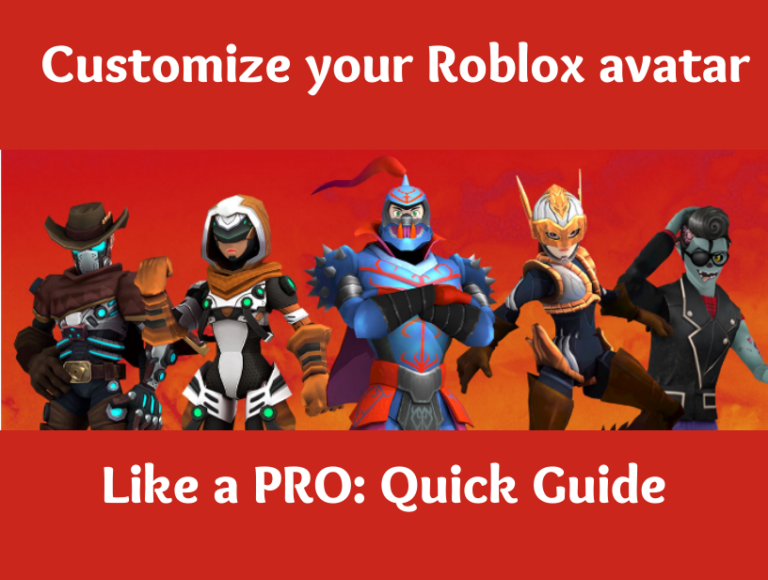 Roblox avatar: how to customize your Roblox avatar like a pro