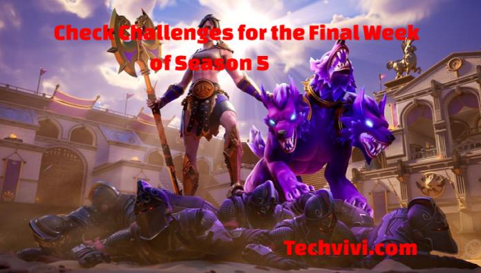 Fortnite challenges leaked for final week of season 5