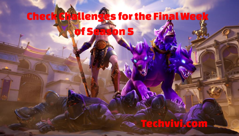 Fortnite Challenges Leaked – Check Challenges for the Final Week of Season 5