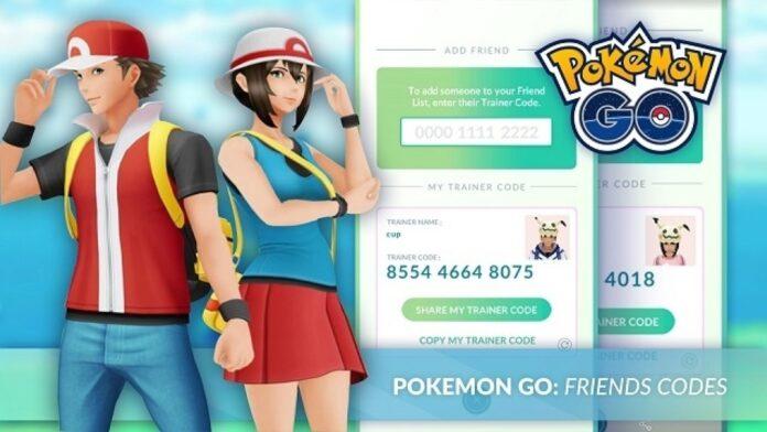 Pokemon GO friend Codes