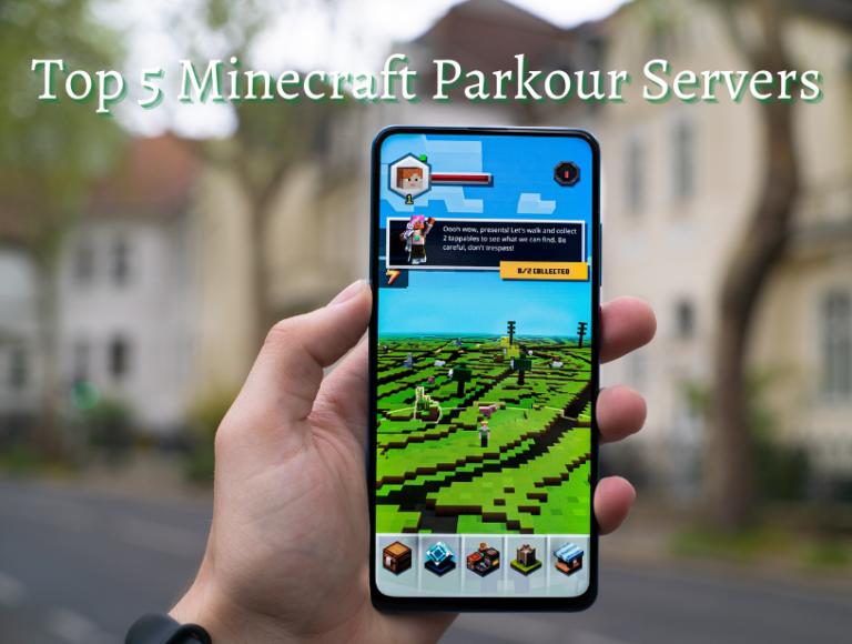 Top 5 Minecraft parkour servers on 2021