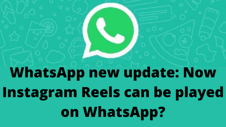 WhatsApp new update: Now Instagram Reels can be played on WhatsApp?
