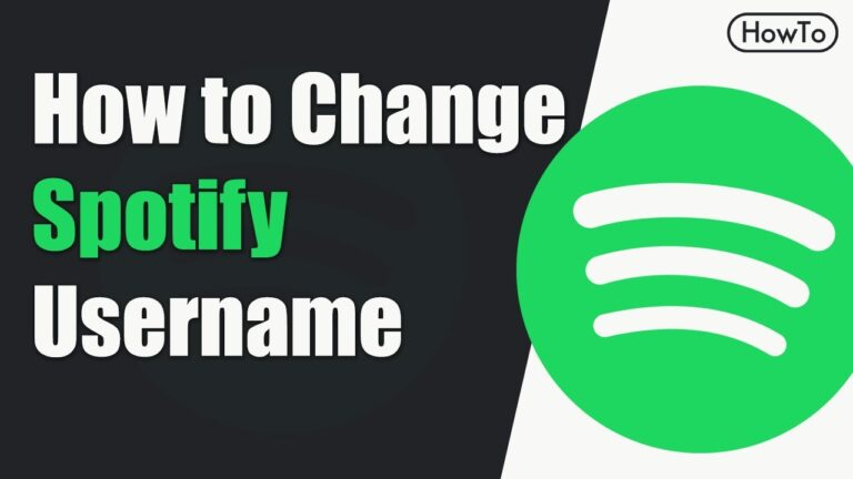 How to Change Spotify Username (Quick Guide)