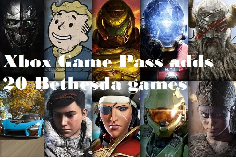 Xbox Game Pass adds 20 Bethesda games: Dishonored, Doom, Wolfenstein, Fallout, and more