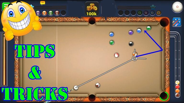 10 Amazing 8 Ball Pool Game Tips and Tricks