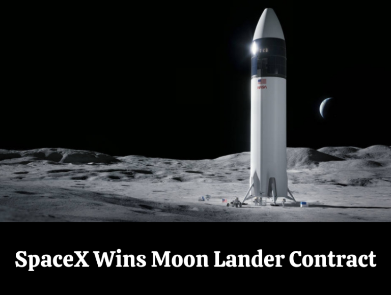 Back to Moon: Nasa Uses SpaceX for moon lander contract