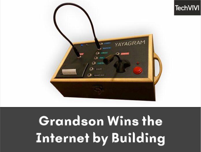 Grandson Wins the Internet by Building Yayagram