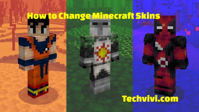Change Minecraft Skins like a pro