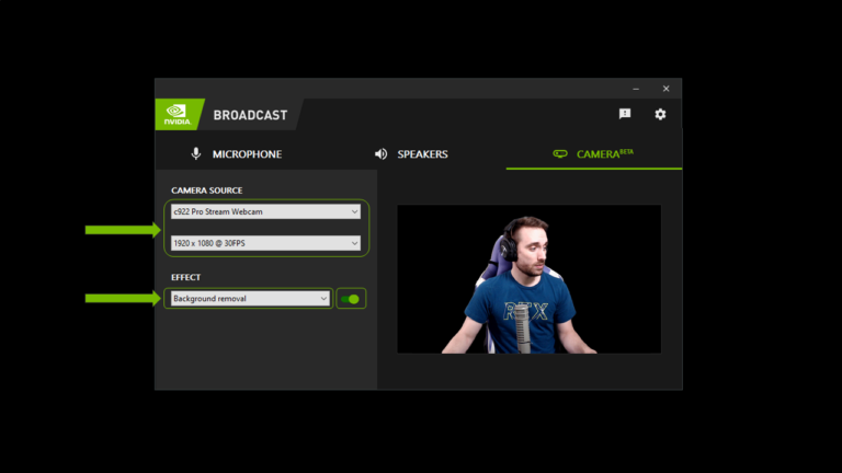 How to Use Nvidia Broadcast to Improve Your Webcam and Microphone