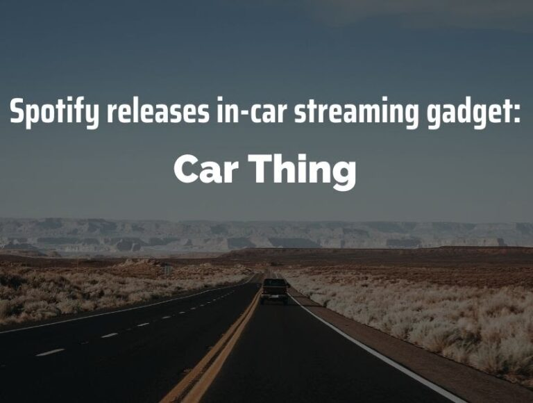 Spotify Car Thing: Spotify launches its in-car entertainment system 'Car Thing' in US