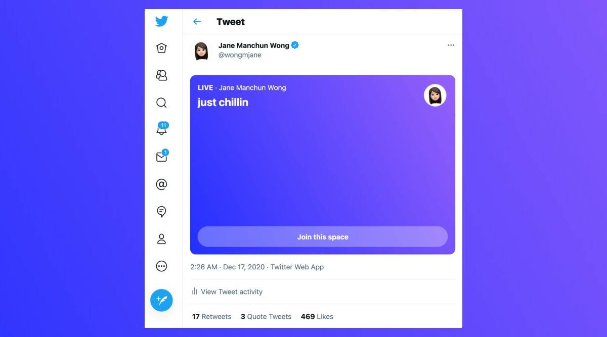 Twitter Spaces For Desktop Web Browsers
