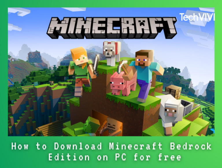 How to get Minecraft Bedrock Edition on PC free?