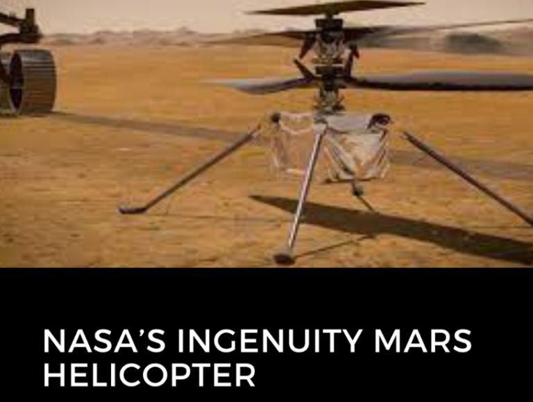 MARS MISSION 2021: NASA's Ingenuity Mars Helicopter Flight three