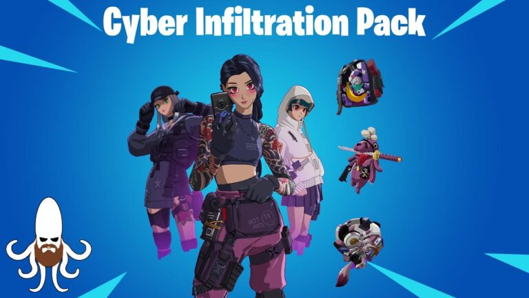 Fortnite Cyber Infiltration Pack How To Get Free Strength Cosmetic Pack