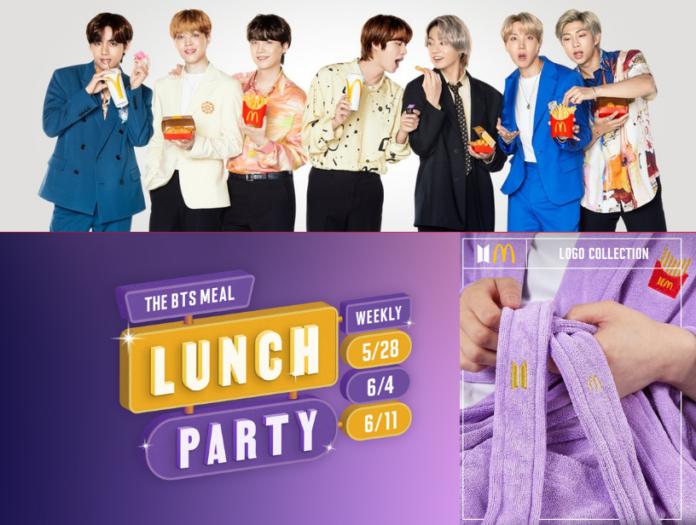 BTS McDonald's collaboration - Techvivi
