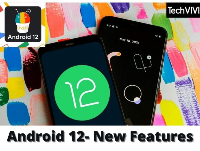Android 12- New features in Google Photos and More