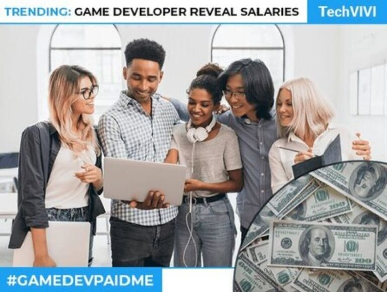 Game developers revealing their Salaries on Twitter: #GameDevPaidMe