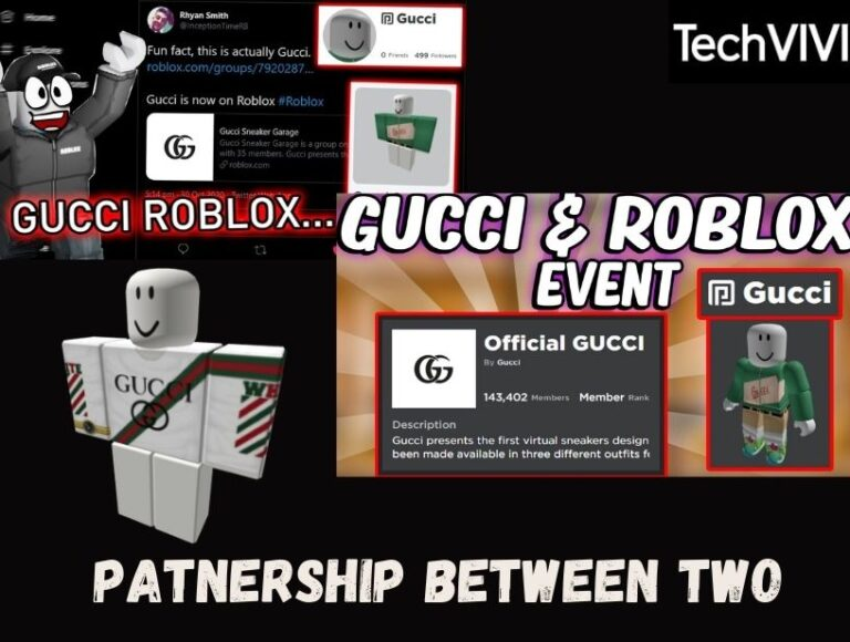 Gucci and Roblox partnership opens door for new Digital Items