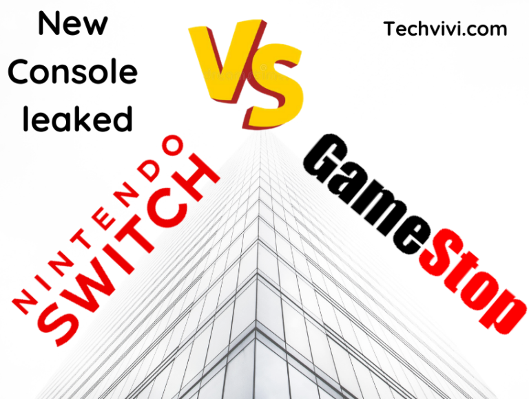 New Nintendo Switch Console Leaked, Everyone blames GameStop