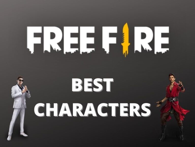 5 best Free Fire characters for Ranked mode in June 2021?