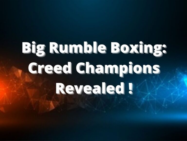Big Rumble Boxing: Creed Champions Revealed For PS4, Xbox And Nintendo Switch