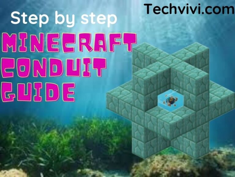 How to make a conduit in Minecraft heart of the sea?