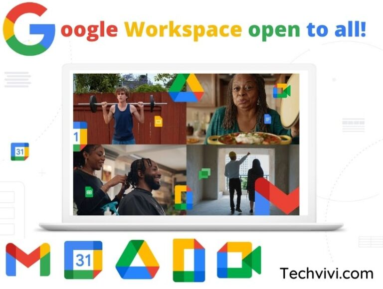 Google Workspace –  open to everyone