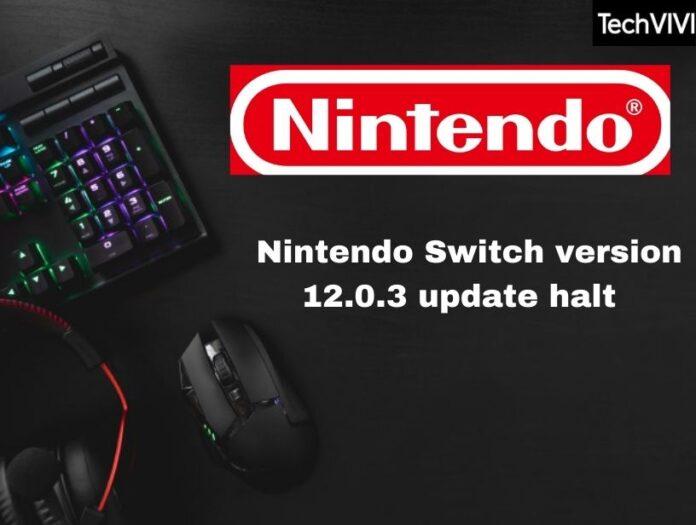 Nintendo halts Switch