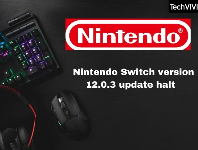 Nintendo halts Switch distribution within a few hours of Switch System Update 12.0.3