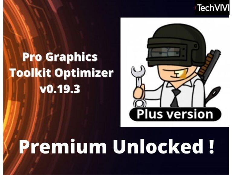 PGT+:Pro Graphics Toolkit Optimizer v0.19.3 (Premium Unlocked)