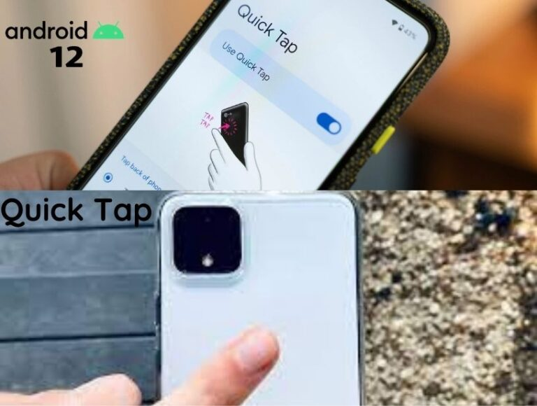 Android 12 Beta 2- Pixel 5 finally gets 'Columbus' double-tap back gesture with 'Quick Tap'