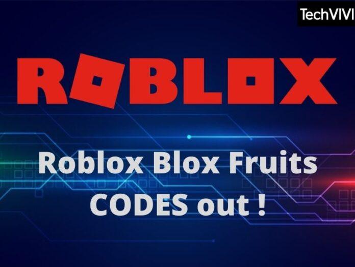 Roblox Blox Fruits codes