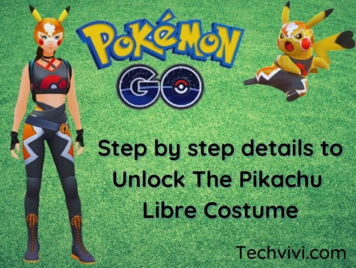 unlock pikachu libre - Techvivi