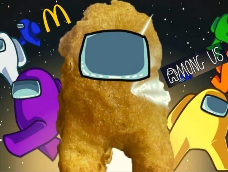 McSus – Among Us McDonald's Chicken Nugget shaped like video game 'Among Us' character sold online for $100,000