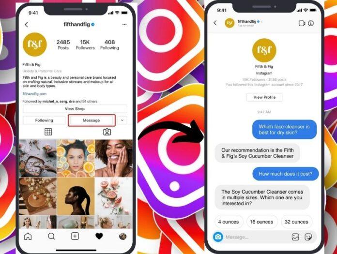 Messenger API for Instagram - Techvivi