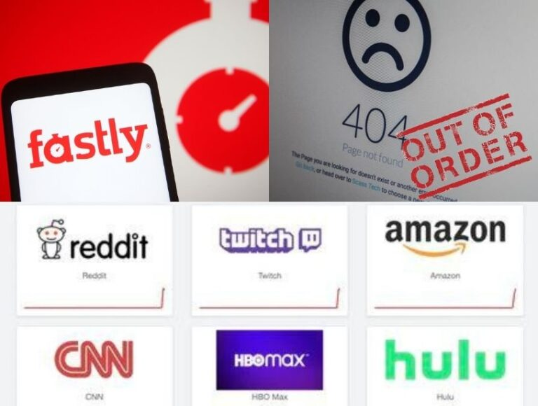 Major websites including Amazon, The Guardian, reddit and CNN crash worldwide