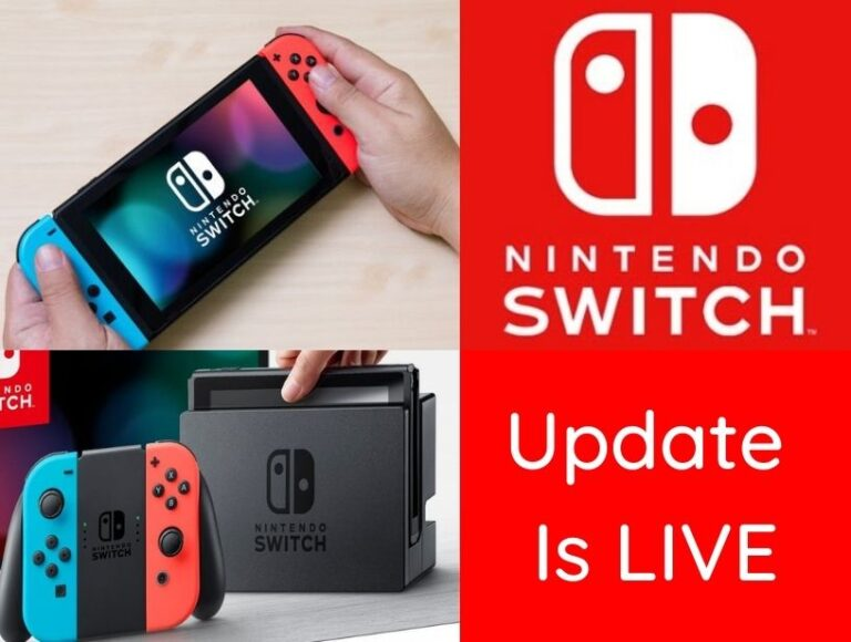 New Nintendo Switch Update Is Live- Everything you need to know about the new Release