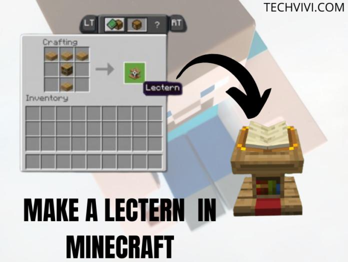 lectern in Minecraft - Techvivi.com