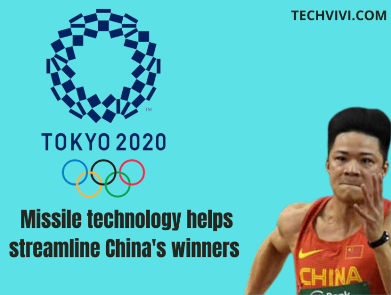 Missile technology helps China's Tokyo Olympic 2020 winners