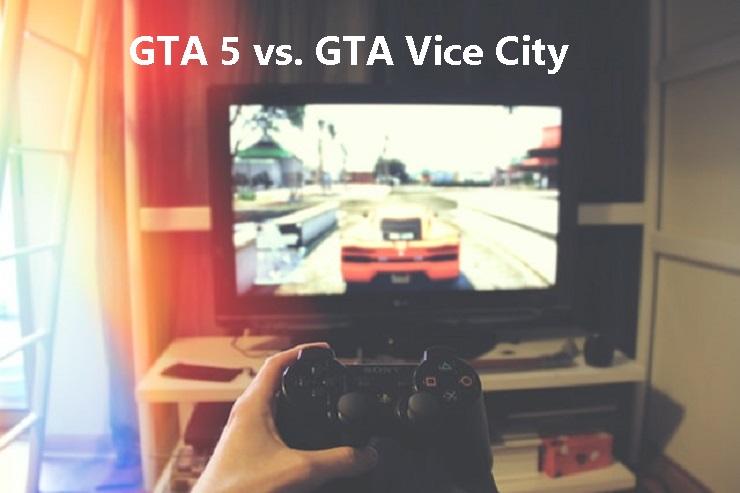 GTA 5 vs. GTA Vice City