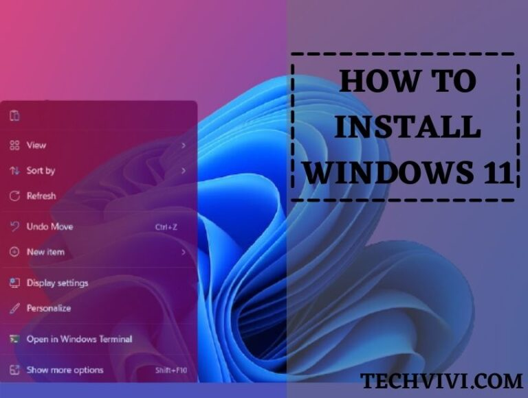 How to install Windows 11 on PC ( Step-by-Step Guide)