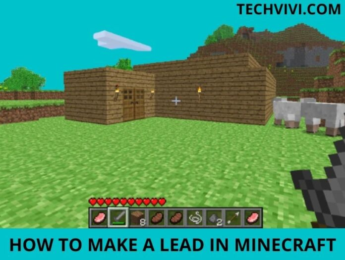 Lead in Minecraft