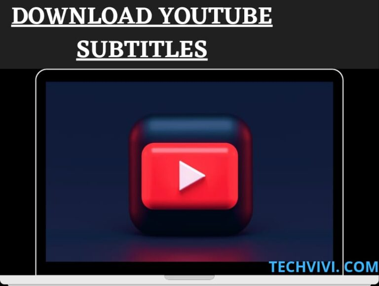 How to download YouTube subtitles for your favorite tutorial transcript