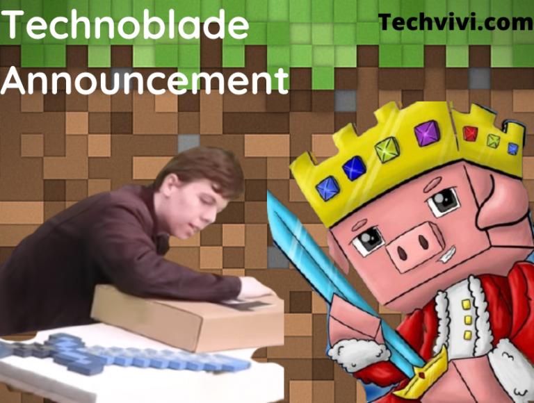 Minecraft content creator, Technoblade announcement