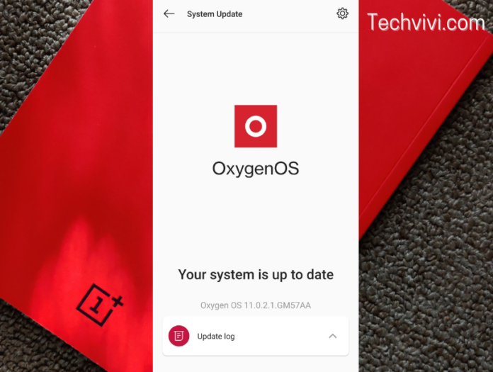 Software update on OnePlus - Techvivi