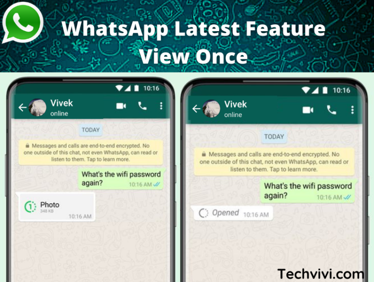 WhatsApp feature view once for photos, videos has been launched